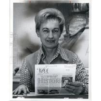 1976 Press Photo Norma Huey Exec. Director of Women's City Club - cva18263