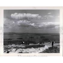 1980 Press Photo Cadillac Mt. at Acacia National Park in Maine - cva22473