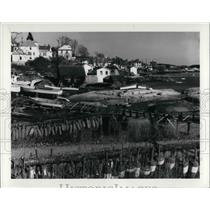1983 Press Photo The Stonington Harbor in Maine - cva22469