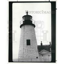 1988 Press Photo Pemaquid Point in Maine - cva22704