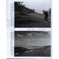 1992 Press Photo Cape Cod gold courses stay open year round - cva19955