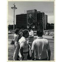 1977 Press Photo The new sights in Havana include the Plaza of the Revolution