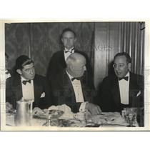 1934 Press Photo Officials at the Annual banquet of Philadelphia Sporting Assoc