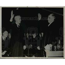 1937 Press Photo Governor Walter Huxman  - nee92595