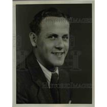 1928 Press Photo J.Marshall Smith, Tenor  - nee91117