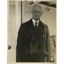 1931 Press Photo Portrait Of Mr. Julius Lay  - nee88541