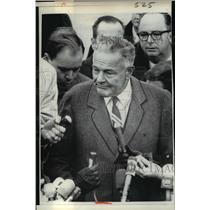 1966 Press Photo Henry Cabot Lodge  - nee92853