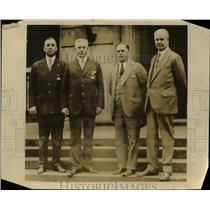 1926 Press Photo Kiwanis Officials for 1925-26 at Annual Convention at Montreal