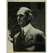 1920 Press Photo William G McAdoo - nee92744