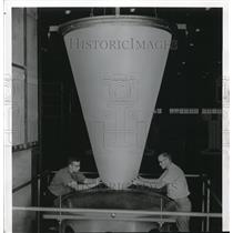 1958 Press Photo Goodyear Aircraft technology
