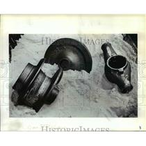 1983 Press Photo Impeller Pumps & Other Equipment for Aerial Spraying