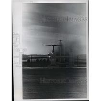 1970 Press Photo Smoke belches from these two planes - mja06634