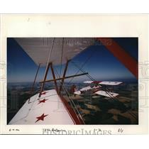 2000 Press Photo Antique Airplane ZW Red Baron - ora99633