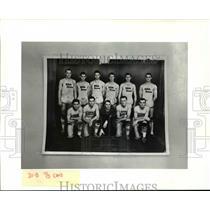 1940 Press Photo Cleveland State University White Horses - Local 32 - cvb64304