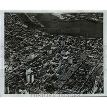 1970 Press Photo Ariel View of Louisville Kentucky - cvb58541