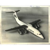1981 Press Photo Air Wisconsin's 100 passenger British Aerospace BAe 146
