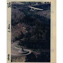 1994 Press Photo Plane flies over Crown Point - orb07982