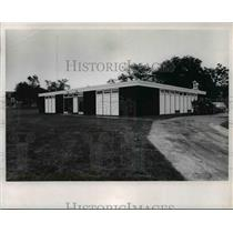 1965 Press Photo Cleveland Browns Training Quarter WRU Campus - cvb57770