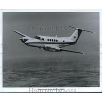 1988 Press Photo Beechcraft Super King Air B200 - orb13595