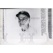 1965 Press Photo New York Giants manager John McGraw - net02912