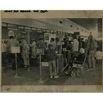 1985 Press Photo Portland International Airport - orb39798