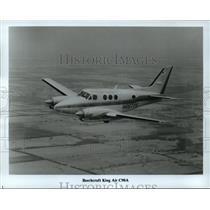 1985 Press Photo Beechcraft King Air C90A - mja01484