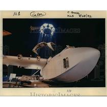 1992 Press Photo Howard Lovering Evergreen AirVenture Museum Flying Boat