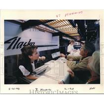 1997 Press Photo Alaska Airlines - ora99641
