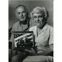 1983 Press Photo Walter & Peg Brandenstein parent of Challenger astronaut Daniel