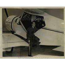 1941 Press Photo Capt.Rafael Suarez Rivas died in plane crashed at Wash. Airpot