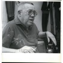 1992 Press Photo Gene Graye, the only survivor of a 1957 crash of a B-52