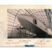 1996 Press Photo The Spruce Goose airplane - ora99492