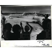 1982 Press Photo Spokane Int'l Airport - spa21977