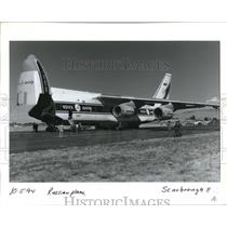 1994 Press Photo Russian Military Airplane - orb09153