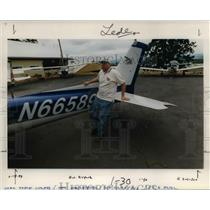 1999 Press Photo Scene from Twin Oaks Airpark, Oregon - orb25885