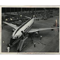 1966 Press Photo The first Boeing 737 short to medium range jet liner