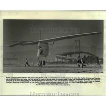 1979 Press Photo Gossamer Albatross, Pedal-powered Aircraft - ora96559