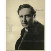 1929 Press Photo Heywood Broun as guest speaker at Brown-Bilt Footlites