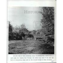 1977 Press Photo An Auto tour of the Litchfield Hills in Northwestern Conn.