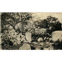 1927 Press Photo San Saba mission after Miranda discovered silver hill