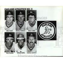 Press Photo Oakland Athletics No. 3  - cvb66780