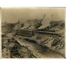 1927 Press Photo Canadian Pulp & Paper Comp Power Plant