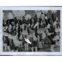 1978 Press Photo The Dallas Cowboys Cheerleaders, 36 most beautiful girls