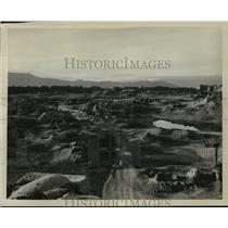 1940 Press Photo Ruins of ancient city of Farah, founded by Alexander the Great