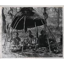 1948 Press Photo Native American debutantes  - mja16582