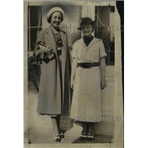 1935 Press Photo Helen Uilein, Mrs. Donald Abert - mja02083