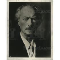 1933 Press Photo Ignace Jan Paderewski - mja17468