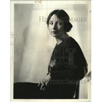 1931 Press Photo Hazel Lees Barbour to play leading role in Easy Virtue