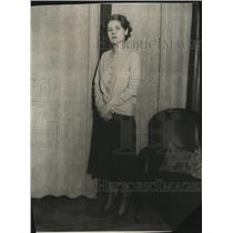 1930 Press Photo Sally Richardson - mja18376