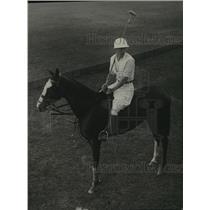 1929 Press Photo Raymond Firestone-Miami Florida poloing - cvb71316